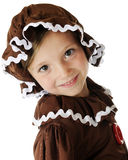 Happy Gingerbread Girl Stock Photography