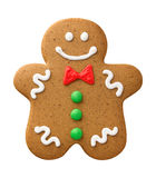 Happy Gingerbread Man Stock Photos