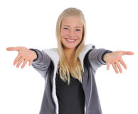 The happy girl. Royalty Free Stock Photography