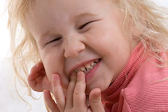 Happy girl Royalty Free Stock Image