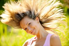 Happy girl Royalty Free Stock Photos