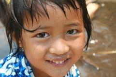 Happy girl. Young happy girl stock photo