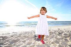 Happy girl. Royalty Free Stock Images
