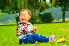 Happy girl(Asia, China, Chinese) Stock Image