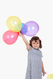 Happy girl celebrating Eid El Fitr Royalty Free Stock Images
