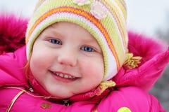 Happy girl close-up Stock Photo