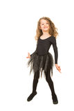 Happy girl dancing Royalty Free Stock Photo