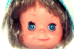 Free Happy Girl Doll Face 2 Royalty Free Stock Photos - 2138648