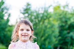 Happy girl excited. Young girl smiling very happy surprised  bei Stock Photo