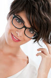 Happy girl with glasses Royalty Free Stock Photo