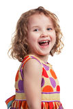 Happy girl in a good mood Royalty Free Stock Photography