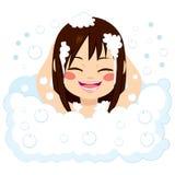 Happy Girl Having Bath Stock Photography