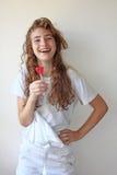 Happy girl royalty free stock photo