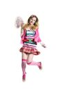 Happy girl jumping Royalty Free Stock Photo