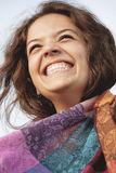 Happy girl laughing Royalty Free Stock Photo