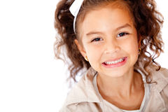 Happy girl portrait Royalty Free Stock Images