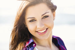 Happy Girl Stock Images