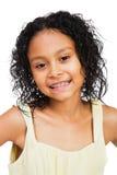 Happy Girl Posing Stock Image
