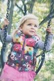 Happy girl in the park Stock Photo