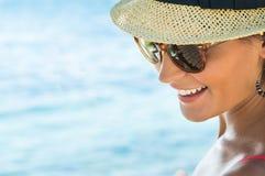 Happy Girl In Vacation Stock Photos