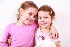 Happy girlfriends Stock Photo