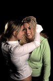 Happy Girlfriends Royalty Free Stock Images