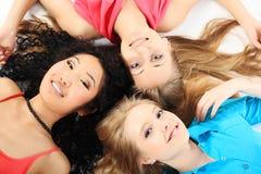 Happy girls Royalty Free Stock Photo