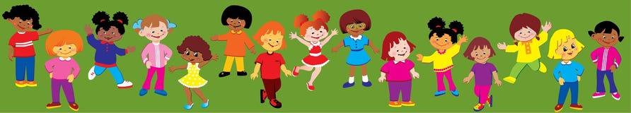 Happy girls. Royalty Free Stock Photo