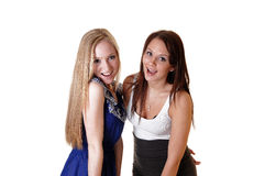 Happy girls. Royalty Free Stock Images