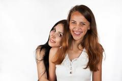 Happy girls  smile Stock Photos