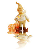 Happy gnome Stock Photography