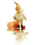 Happy gnome Stock Photography