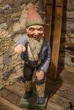 Happy Gnome Statue - Vesterheim Museum Stock Image