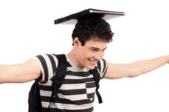 Happy going back to school. Stock Photo