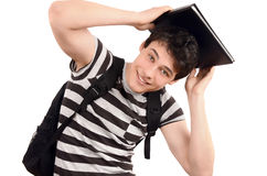 Happy going back to school. Stock Photos