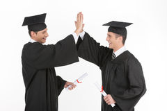 Happy grads. Stock Images