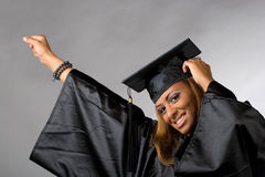 Happy Graduate Royalty Free Stock Image