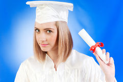 Happy graduate Royalty Free Stock Photo