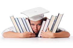 Happy graduate Stock Photos