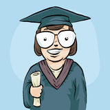 Happy Graduate Stock Photography