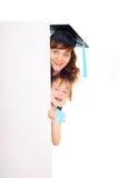 Happy graduate student Royalty Free Stock Photos