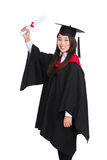 Happy graduate student Royalty Free Stock Photography
