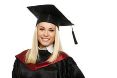 Happy graduated student Royalty Free Stock Photography