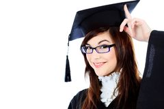 Happy graduation Royalty Free Stock Photos