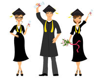 Happy graduation Stock Photography