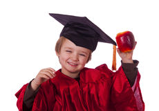 Happy graduation child Royalty Free Stock Images