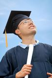 Happy graduation man Royalty Free Stock Photography