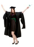 Happy graduation woman Stock Photo