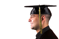 Happy graduation a young man Stock Photo