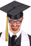 Happy graduation a young man Royalty Free Stock Image